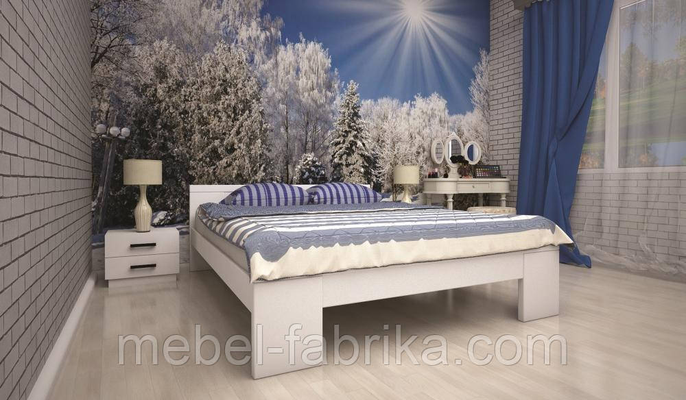 Кровать ТИС ІЗАБЕЛЛА 2 90*200 сосна