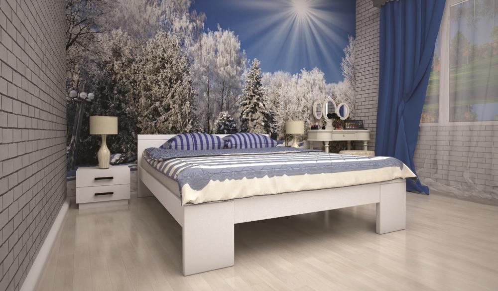 Кровать ТИС ІЗАБЕЛЛА 2 90*190 дуб