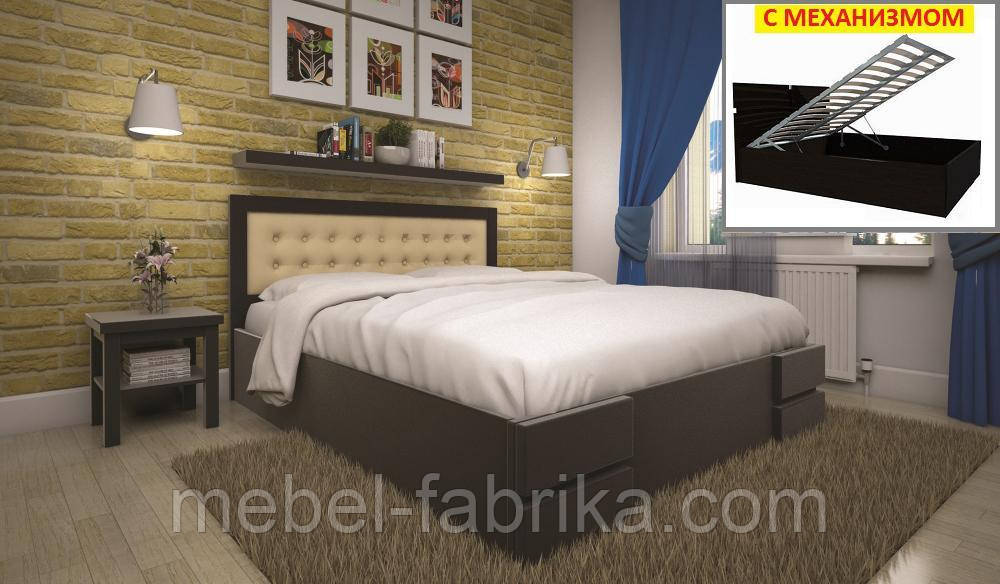Кровать ТИС КАРМЕН (ПМ) 160*190 бук