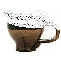 Чашка чайная керамическая ручной работы Большая 450мл 9556