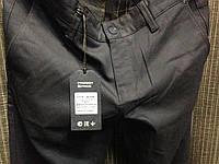 Темно-синие мужские зимние брюки в мелкую синюю крапинку