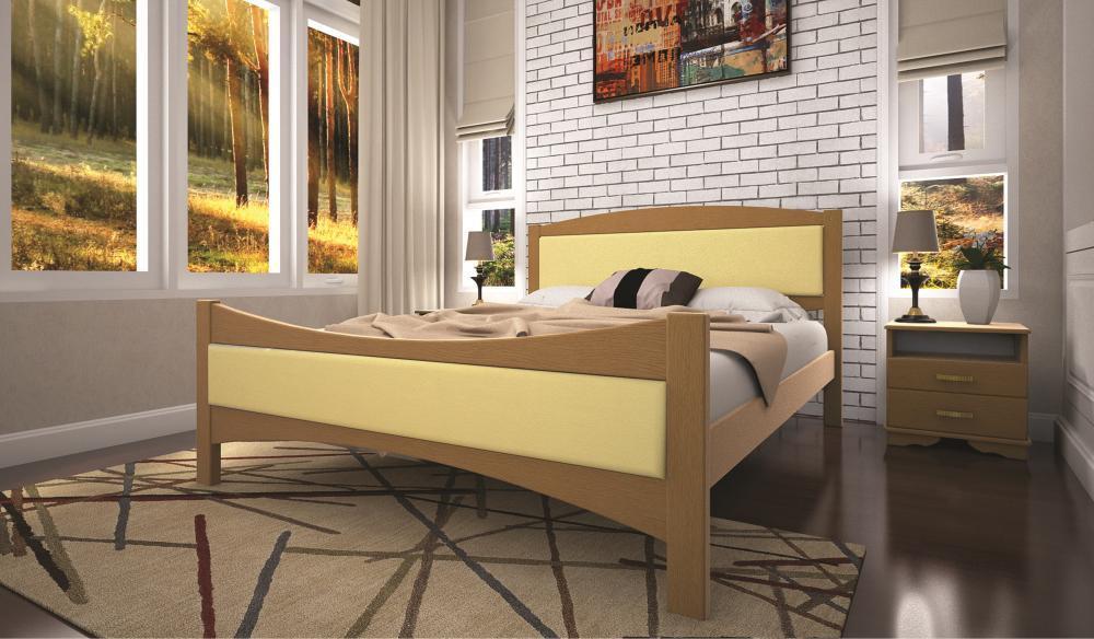 Кровать ТИС ЛОТОС 2 90*200 бук