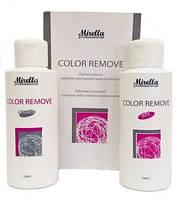 Mirella Professional Color Remover. Деколорант. Средство для удаления искусственного пигмента с волос.