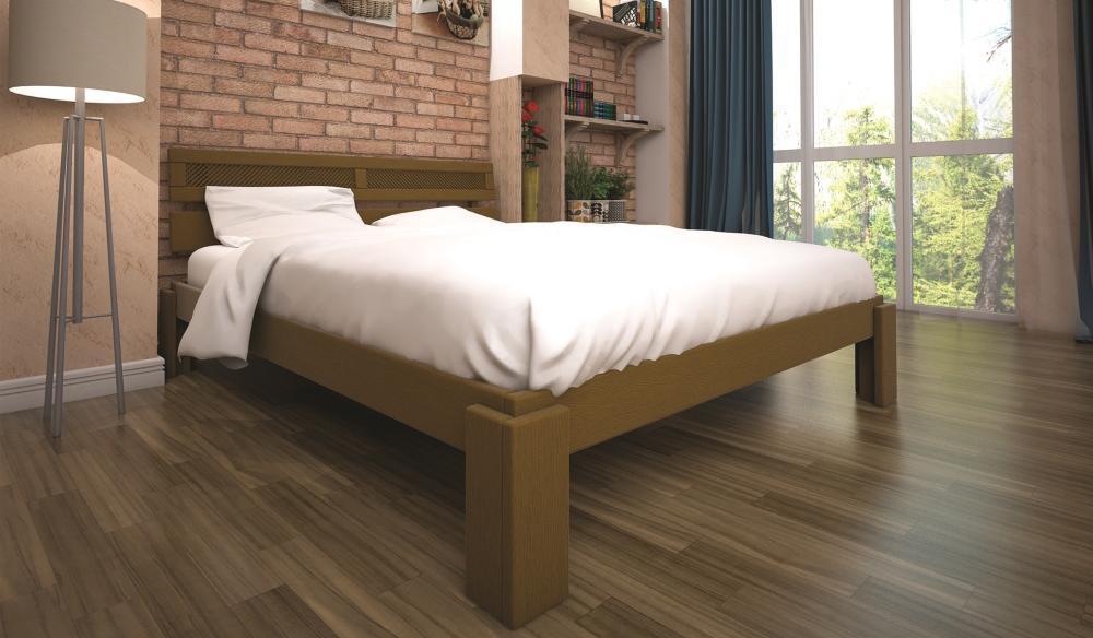 Кровать ТИС МАЛЬВІНА 2 90*200 сосна