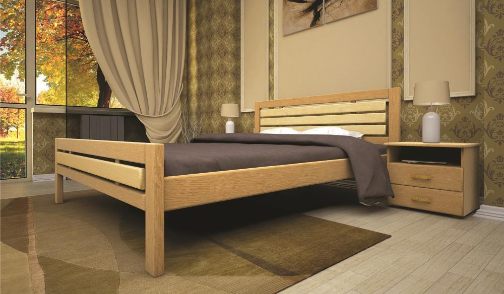 Кровать ТИС МОДЕРН 1 120*190 бук
