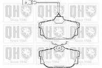Колодки тормозные задние (комплект) Quinton Hazell BP1285