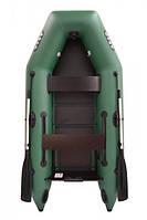 Двухместная надувная плоскодонная моторная ПВХ лодка ARGO АМ-270
