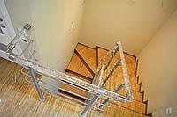 """Изготовление и монтаж сварных закрытых лестниц для дома """"под ключ"""""""