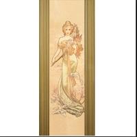 Дверное полотно шпонированое Коллекция Премьера модель Премьера фото(изображение под заказ)