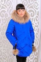 Красивая теплая куртка для девочек, фото 1