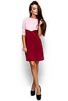 Жіноче повсякденне рожеве / червоне плаття Ashley