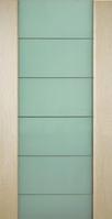 Двери межкомнатные шпонированные Коллекция Премьера модель Премьера с молдингом