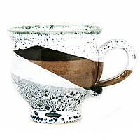Чашка чайная керамическая ручной работы Большая 450мл 9558