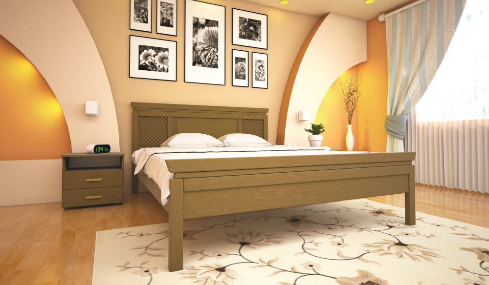Кровать ТИС ОРІОН 2 90*190 бук