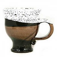 Чашка чайная керамическая ручной работы Большая 450мл 9559