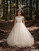 Детское нарядное платье FG0646 - индивидуальный пошив