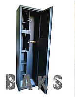 Сейф оружейный усиленный на три ружья С-301У