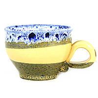 Чашка чайная керамическая ручной работы Большая 450мл 9560