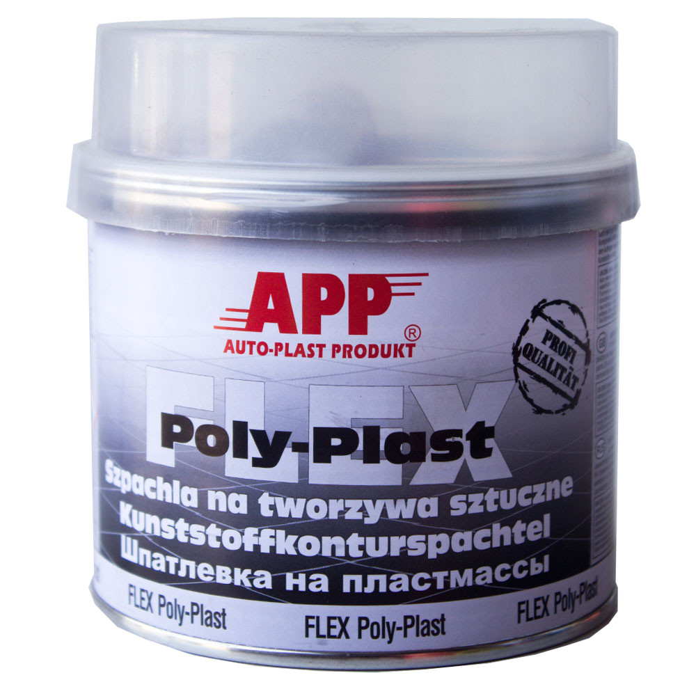 Шпатлевка для пластмассы APP FLEX POLY-PLAST 0,6 кг
