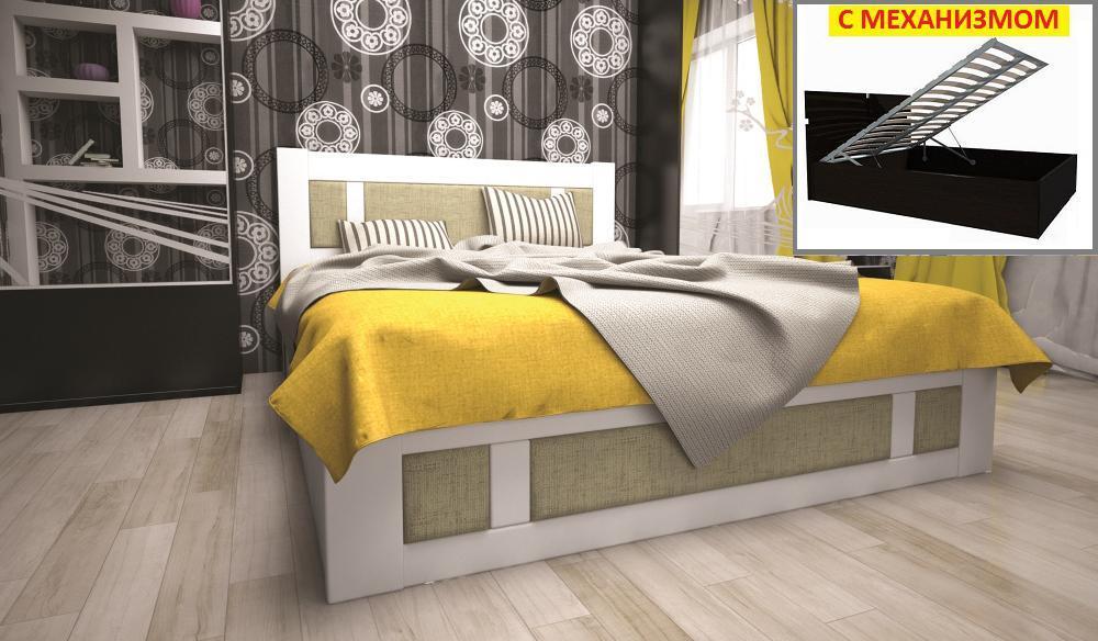 Кровать ТИС ТИТАН 2 (ПМ) 180*200 сосна