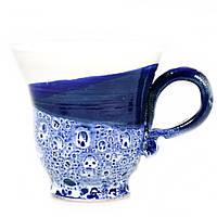 Чашка чайная керамическая ручной работы Большая 450мл 9561