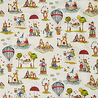 Ткань для штор в детскую Little bear My world