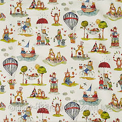 Тканина для штор в дитячу Little bear My world