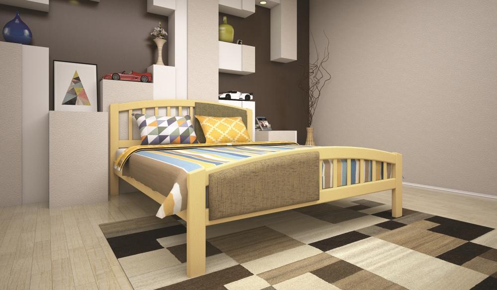 Кровать ТИС ФАНТАЗІЯ 2 140*190 бук