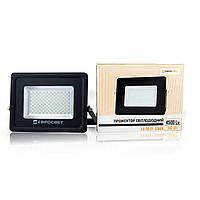 Прожектор светодиодный 50W 4500Lm 6400K IP65 SanAn SMD EV-50-01 серия PRO Евросвет (000039736)