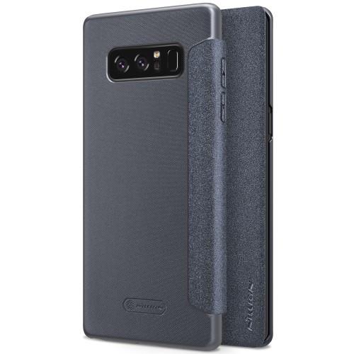 Чехол книжка Nillkin Sparkle Series для Samsung Galaxy Note 8 черный