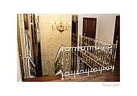 Монтаж кованого ограждения для лестниц Grande Forge