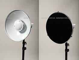 Портретная тарелка + соты + софт ткань beauty dish 42см