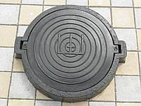 Люк резинокордовый канализационный с замком (до 12,5 т)