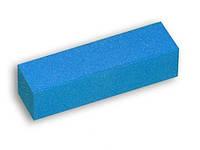 Баф 4-х сторонний для натуральных, голубой
