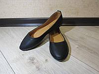Балетки, черные классические, размер 36-41