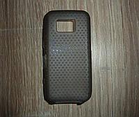 Чехол накладка Nokia 5530 серый