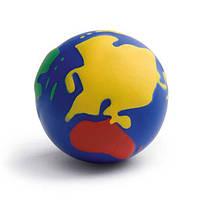 Круглый антистресс в форме земли
