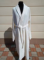 Махровый халат размер 5XL. Батал