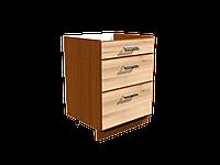 Кухонный блок ДСП нижний 400 на 3 ящика