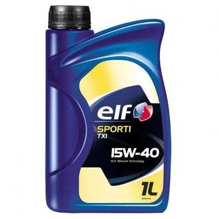 Масло Elf Sporti TXI 15W-40 1л, фото 2