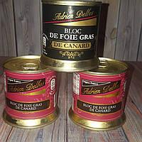 Фуа гра (гусиная  печень) Bloc de foie gras de canard 200 гр