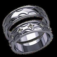 Обручальные кольца, арт. К 20006