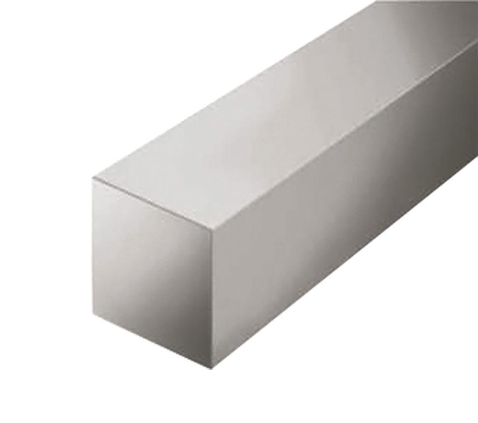 Алюминиевый квадрат 100 мм 6082 Т6 (АД35Т)