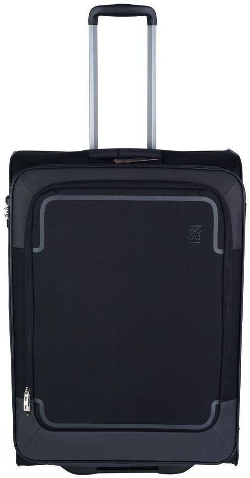 Тканевый 2-х колесный чемодан-гигант 108 л. Roncato Stargate 425451 01, черный
