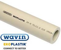Труба Wavin Ekoplastik Ø63х10,5 PP-R S3,2 / SDR7,4 / PN 20 (12) (Чехия)