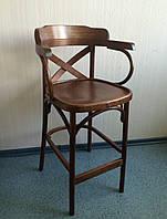 Деревянный барный стул Аполло