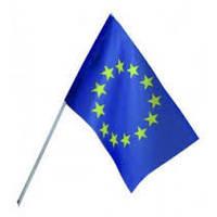 Флаг Евросоюза на присоске