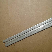 Направляющие для роликов в шкаф-купе и межкомнатные двери (алюминиевая) для коричневых роликов