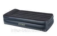 Односпальная надувная кровать Intex 66706 (102х203х47 см.) со встроенным электронасосом