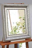 Зеркало в раме, зеркало настенное, зеркало в пластиковой раме, габариты 500х575 мм, фото 1